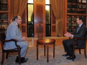 President Al-Assad's interview  with Al-Mayadeen TV /October/ 21,2013