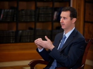 President Al-Assad's interview with Turkish Halk TV and Yurt paper October,4,2013