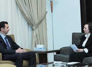 President Al-Assad's interview with  Tishreen Paper October , 6,2013