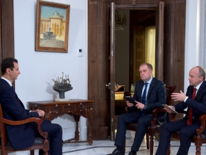 President Assad's Russia 24 and NTV channels Interview, December 14, 2016