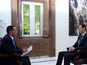 President Assad's Venezuelan Telesur TV Interview, Arabic, April 27, 2017.