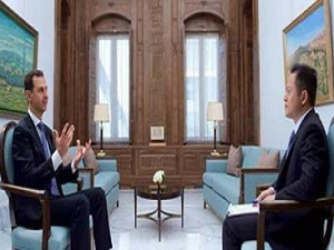 President Assad's Chinese PHOENIX TV Interview,  Arabic, March 11, 2017