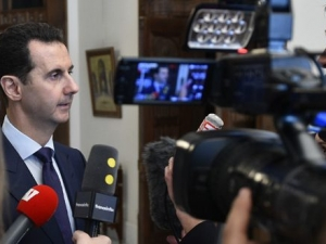 President Assad's Statements to French Media, Arabic,  January 8, 2017.