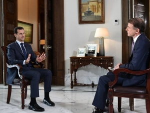 President Assad's Interview with NBC News, July 14, 2016.