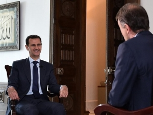 President Assad's Interview with NBC News, Arabic,  July 14, 2016.