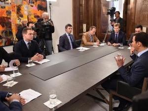 مقابلة السيد الرئيس /بشار الأسد/ مع وسائل الاعلام الروسي, بتاربخ /27/ /اذار/ من العام /2015/