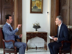 President Assad's Swiss SRF 1 TV Interview, Arabic, October 19, 2016