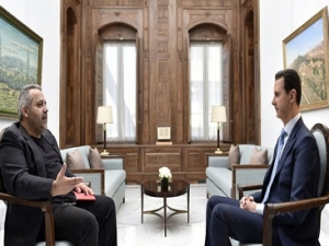 President Assad's Croatian Newspaper Vecernji List Interview, Arabic, April 6, 2017