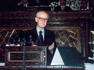 خطاب السيد الرئيس حافظ الأسد  في حفل افتتاح المؤتمر العام السادس للاتحاد الوطني لطلبة سورية  26/2/1975