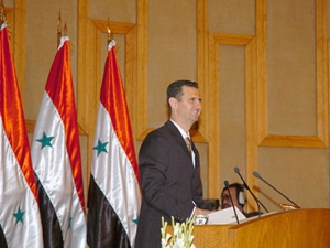 PRESIDENT AL-ASSAD 2011 DAMASCUS UNIVERSITY SPEECH
