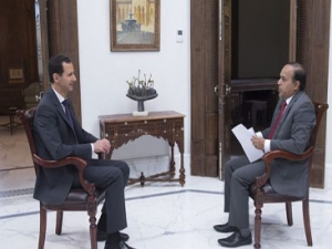 President Assad's Indian Wion TV Interview, Arabic,  June 3, 2017