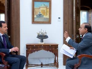 President Assad's Indian Wion TV Interview, June 3, 2017