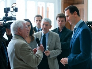President Assad's Statements to EU Media Outlets, Arabic, March 13, 2017